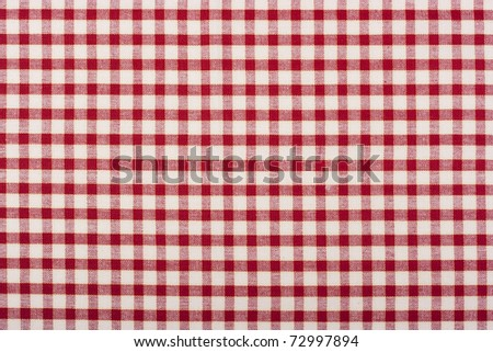 Kitchen mat for table in the background. - stock photo