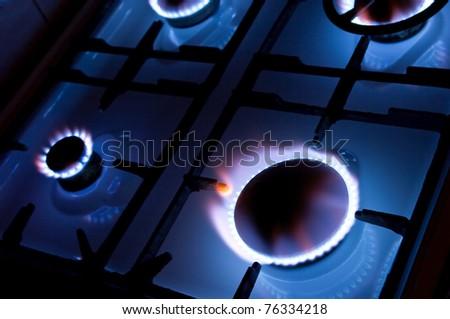 Kitchen oven - stock photo