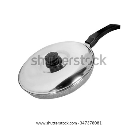 kitchen  pan - stock photo