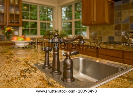 Kitchen Sink - stock photo