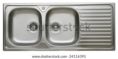 kitchen sink - stock photo