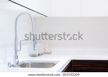 kitchen sink and decoration
