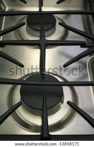 Kitchen Stove - stock photo