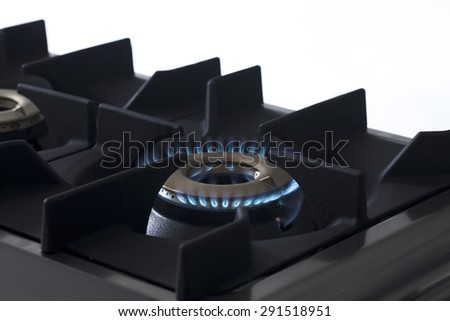 kitchen stove - stock photo