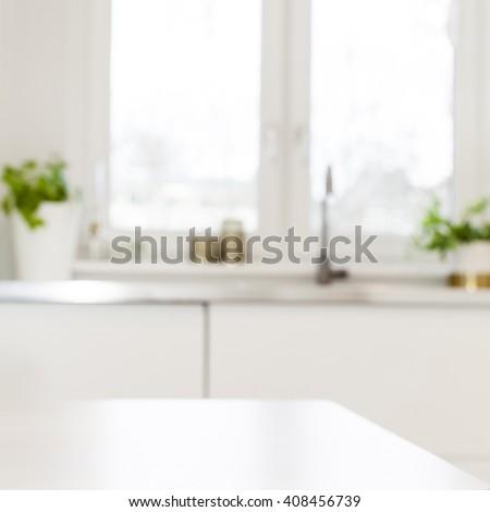 Kitchen surface background - stock photo