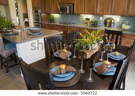 Kitchen Table Close Up dining table designer decor stock photo 10606672 - shutterstock