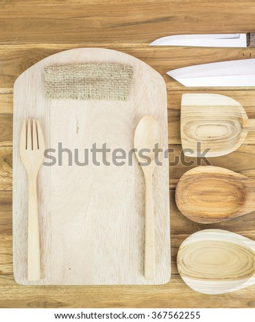 Kitchen utensils set. - stock photo