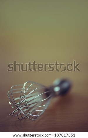 Kitchen whisk still life