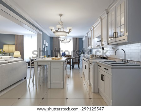 White Kitchen Stainless Steel Appliances kitchen stainless steel appliances white cabinets stock