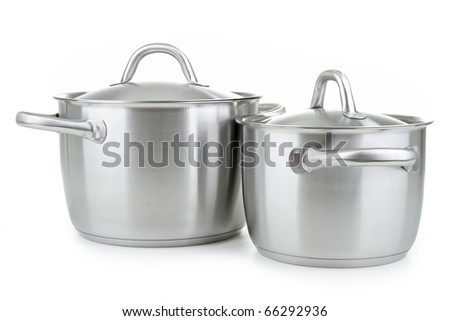 kitchenware, cooking pot - stock photo