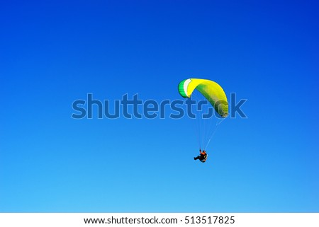 Kite flyer in the sky background hd
