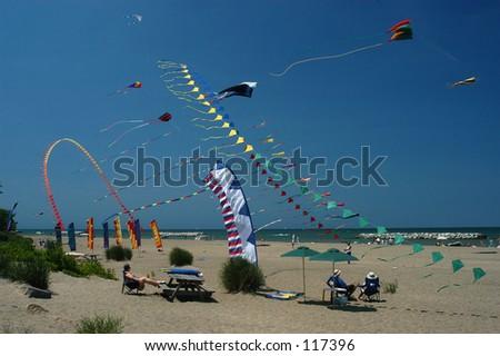 Kites - stock photo