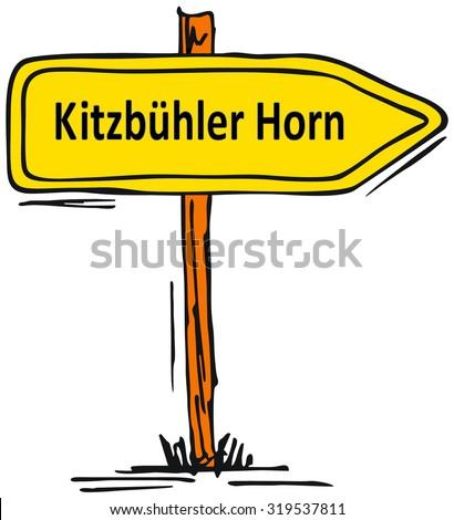 Kitzbuhler Horn, Kitzbuhel - Tirol, Austria - stock photo