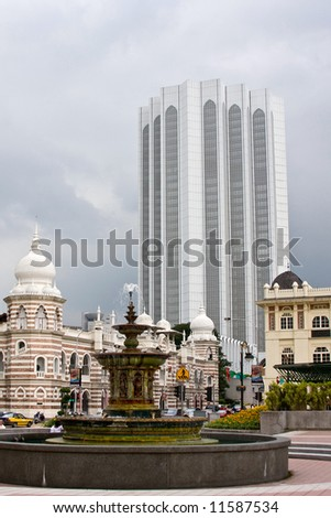 kl malasia - stock photo