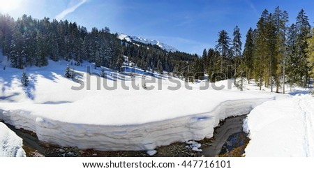 Kleinwalsertal - stock photo