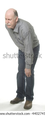 Knee pain - stock photo