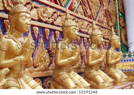 kneel for praying - stock photo