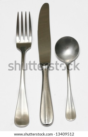 knife and fork and spoon