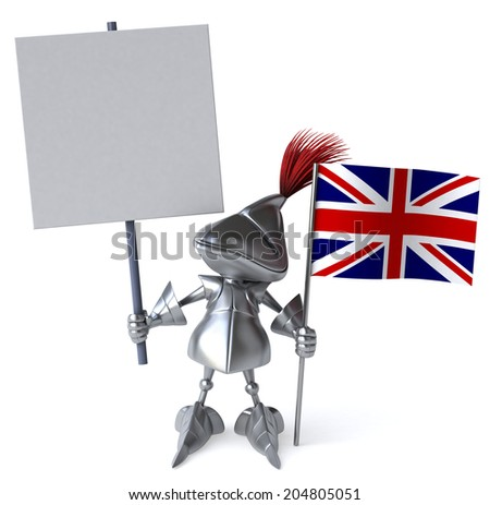 Knight - stock photo