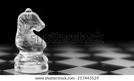 Knight on his watch - stock photo