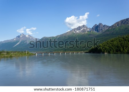 Knik River, Alaska / Knik River is located in the Palmer Recording District,  the U.S. state of Alaska.