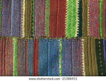 Knit background texture. Openwork crocheting, wool pattern, handmade.