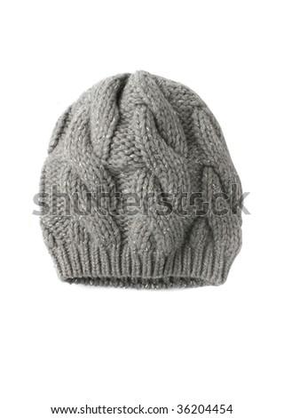 knit hat - stock photo