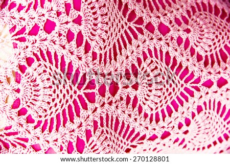 knitted crochet texture background
