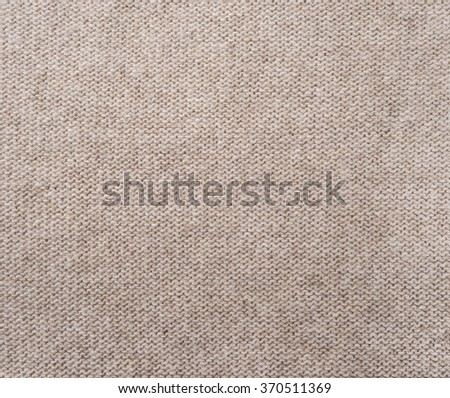 Knitted Fabric Texture, Background - stock photo