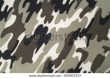 Knitted fabric texture. From a military coloring. - stock photo