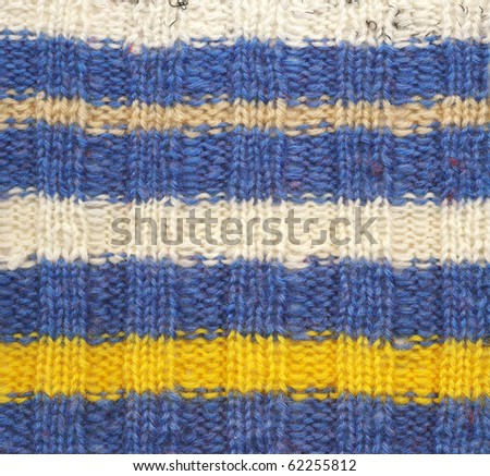 knitted woolen texture - stock photo