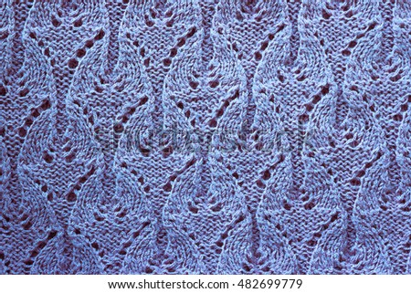 knitting fabric texture