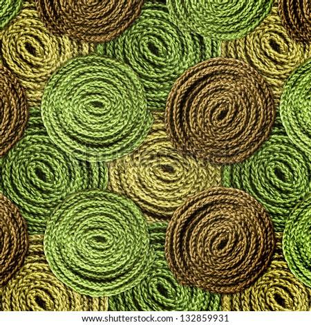 knitting fragments texture background - stock photo