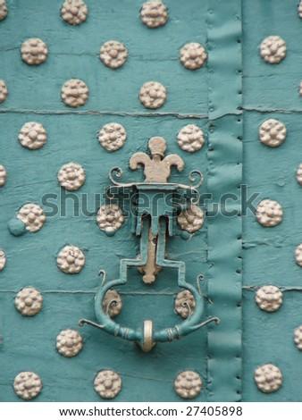 Knocker - stock photo