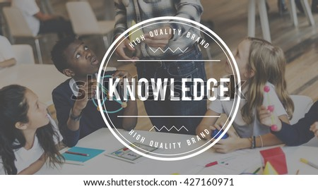 Knowledge College Education Insight Power Concept - stock photo