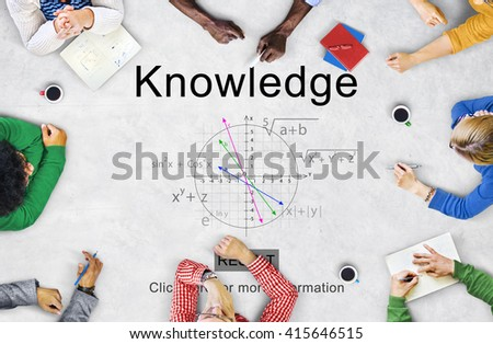 Knowledge Education Insight Intelligence Wisdom Concept - stock photo
