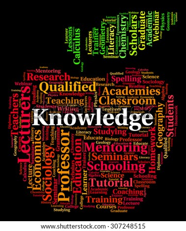 Knowledge Word Representing Understanding Expertness And Wisdom