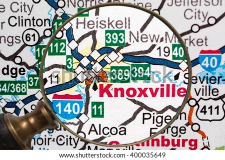 Knoxville - stock photo