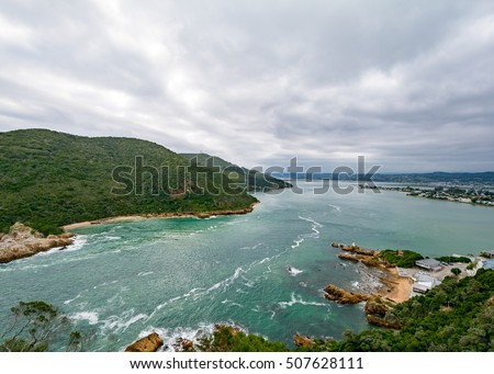 Knysna Bay, South Africa