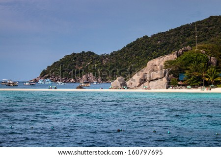 Ko Tao island, Thailand - stock photo