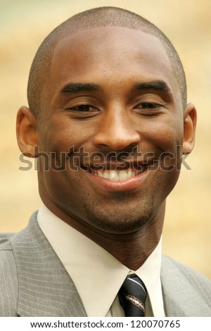 Kobe Bryant at the Ceremony Honoring Los Angeles Lakers Owner Jerry Buss with the 2,323rd star on the Hollywood Walk of Fame. Hollywood Boulevard, Hollywood, CA. 10-30-06 - stock photo