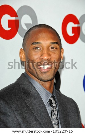 Kobe Bryant at the GQ Men of the Year Party, Chateau Marmont, Los Angeles, CA. 11-18-09 - stock photo
