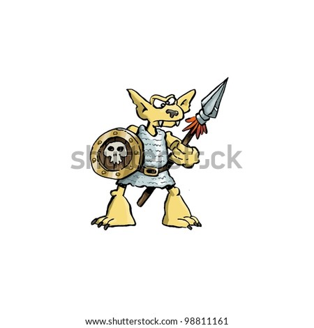 Kobold - stock photo