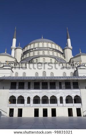 Kocatepe Mosque, Ankara, Turkey - stock photo