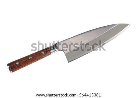 Küchenmesser clipart  Knife Camping Isolated On White Vector Stock Vector 547951066 ...