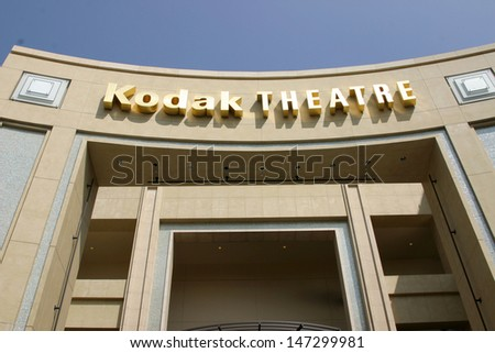 Kodak Theater Exterior Halle Berry  receives Star on the Walk of Fame Hollywood & Highland Los Angeles, CA April 3, 2007 - stock photo