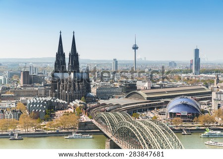 Koelner Dom (Cologne Cathedral) in Koelne, Germany  - stock photo