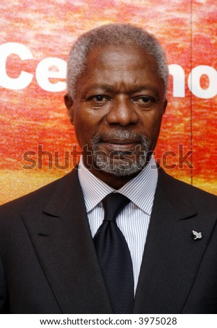 Kofi Annan - stock photo