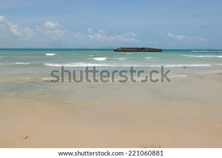 Koh Lan (island),Pattaya beach,Thailand. - stock photo