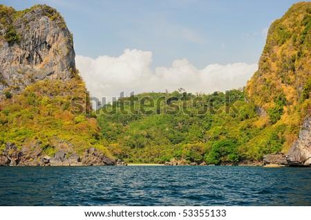 Koh Mook white beach, Trang, Thailand - stock photo